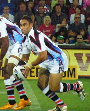 James Storer - Storer playing for Fiji at the 2008 World Cup