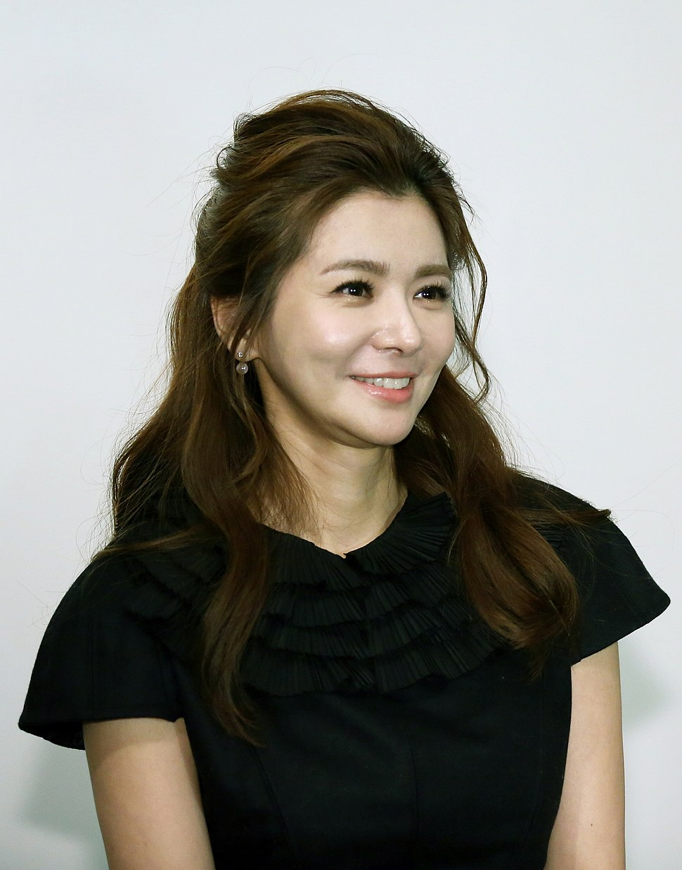 Jang Seo-hee at The Exhibition of Three Korean Artists at Today Art Museum in Beijing, China
