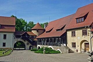 Janowice Wielkie Village in Lower Silesian, Poland