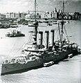 Japanese cruiser Izumo in Shanghai.jpg