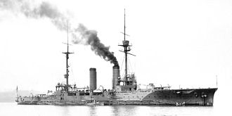 Armored cruiser - Japanese armored cruiser Tsukuba