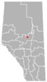 Jarvie, Alberta Location.png