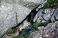 Jaskinia za Ratuszem Zimna otwór.jpg