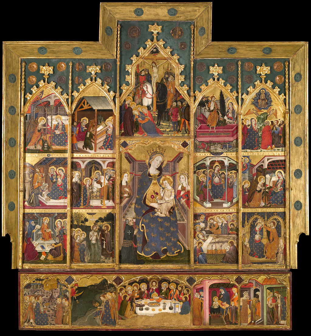 Jaume Serra - Altarpiece of the Virgin - Google Art Project
