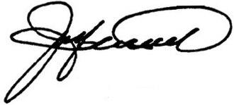 Jay Hammond - Image: Jay Hammond signature 82prm