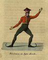 Jean Garcin, Reverence en ligne directe, 1813.png
