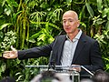 Jeff Bezos at Amazon Spheres Grand Opening in Seattle - 2018 (39074799225) (cropped3).jpg