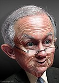 Jeff Sessions - Caricature