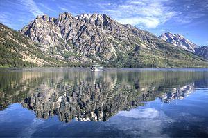 Jenny Lake - Boat ride across Jenny Lake to Cascade Canyon