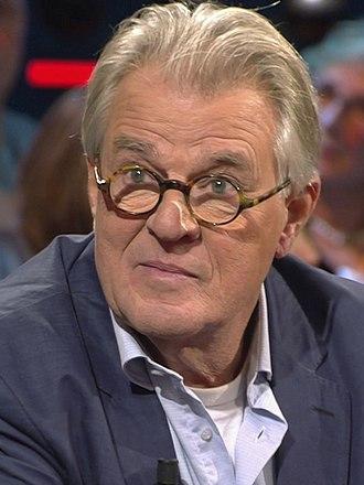 Jeroen Krabbé - Krabbé as a guest of the TV show De Wereld Draait Door, 2018