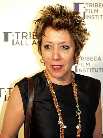 Jessica Hagedorn - Hagedorn at the Tribeca Film Festival in 2008