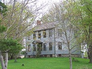 "The Jethro Wood House in <a href=""http://search.lycos.com/web/?_z=0&q=%22Poplar%20Ridge%2C%20New%20York%22"">Poplar Ridge</a>"