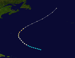 Track map of Hurricane Jig