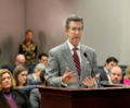 Jim Boyd gestures while answering questions from members of the House Criminal Justice Subcommittee.png