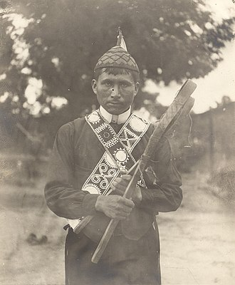 Indigenous North American stickball - Image: Jim Tubby, Mississippi Choctaw, ca. 1867 1935