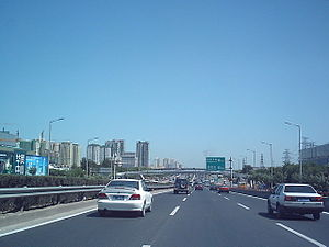 Transport in Beijing - The Jingtong Expressway