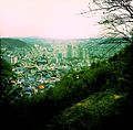 Jinju City, View from the Mountain Trails, March 2012.JPG
