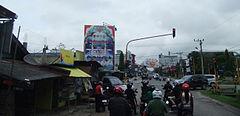 Jl MT Haryono di Kota Sampit