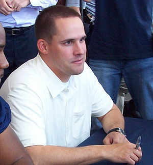 Josh McDaniels at the 2009 Denver Broncos Fan Fair