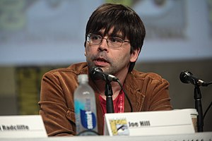Joe Hill (writer) - Hill at San Diego Comic-Con International in July 2014