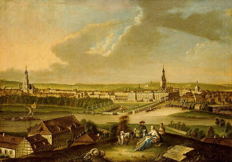 File:Johann Friedrich Meyer - Potsdam, Ansicht vom Brauhausberg aus.jpg