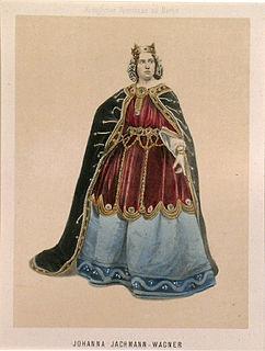 Johanna Jachmann-Wagner singer