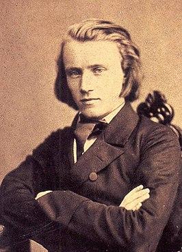 Brahms op 20-jarige leeftijd