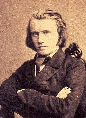 Johannes Brahms à 20 ans (source : Wikipédia)