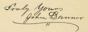 John Danner - Image: John Danner signature