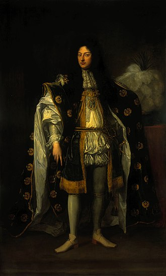 Order of the Thistle - John Drummond, 1st Earl of Melfort in 1688; originator of the 'revived' Order