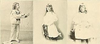 John G. Carlisle - John G. Carlisle's gradchildren (Jane middle, Laura right)