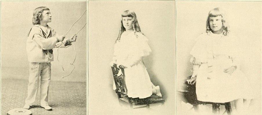 John G. Carlisle's gradchildren (Jane middle, Laura right)