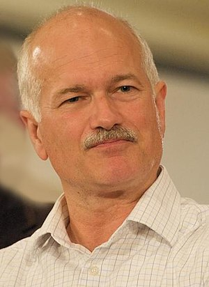 Timeline of the Canadian federal election, 2004 - Jack Layton