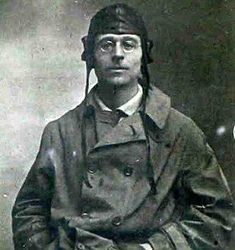 Eggington House - John Lawrence Hodgson when he obtained his flying certificate, 1917