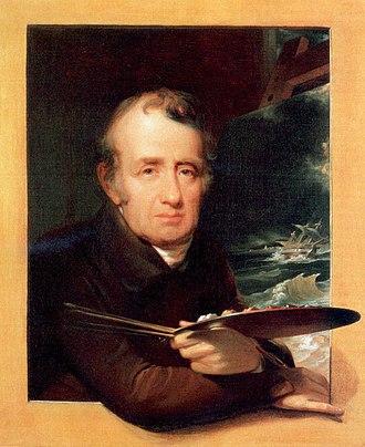 Thomas Birch (artist) - The Studious Artist: Portrait of Thomas Birch by John Neagle, 1836, Pennsylvania Academy of the Fine Arts