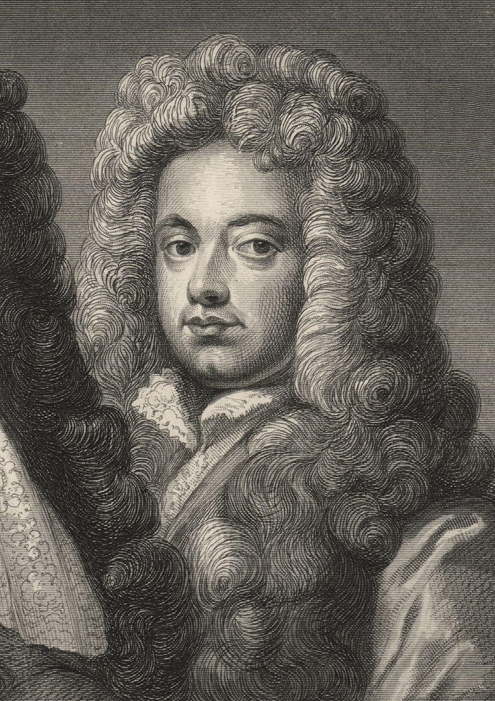 John Somers, Baron Somers from NPG
