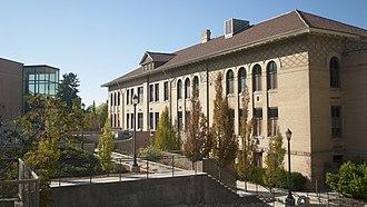 University of Utah College of Science - John Widtsoe Building on the University of Utah campus