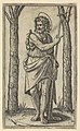 John the Baptist holding a staff, from the series 'Piccoli Santi' (Small Saints) MET DP853492.jpg