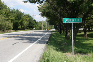 Indiana State Road 32 - SR 32 in Jolietville, Indiana