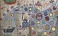 Jong (Javanese junk), Java island, and other Indonesian islands in Catalan atlas.jpg