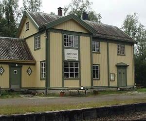 Jørstad Station - Image: Jorstad railway station