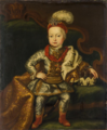 Joseph II as a boy in Hungarian magnate costume.png