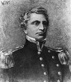 Josiah Tattnall - Portrait showing him in pre-Civil War uniform.