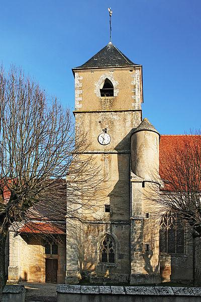 Clocher de l'église de Joux-la-Ville