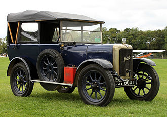 Jowett Cars - Jowett Seven Chummy short chassis tourer (1926)—Shuttleworth Collection