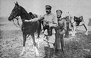 Jozef Pilsudski with Kasztanka
