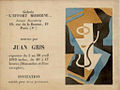 Juan Gris, invitation, galerie L'Effort Moderne, Léonce Rosenberg, April 1919.jpg