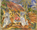 JulesPascin-1915-Landscape in Cuba.png