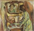JulesPascin-1917-Dressing Woman.png