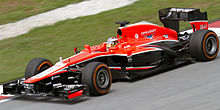 Photo de la voiture Jules Bianchi